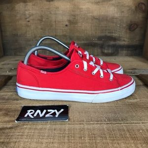 Keds Canvas Sneakers Chili Red